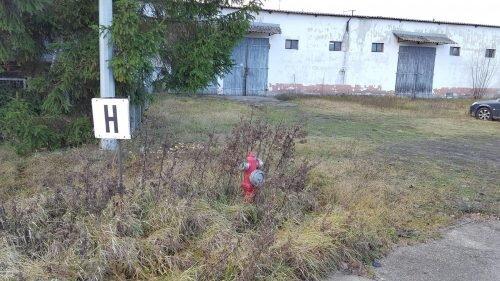 na terenie zakładu czynna instalacja ppożarowa